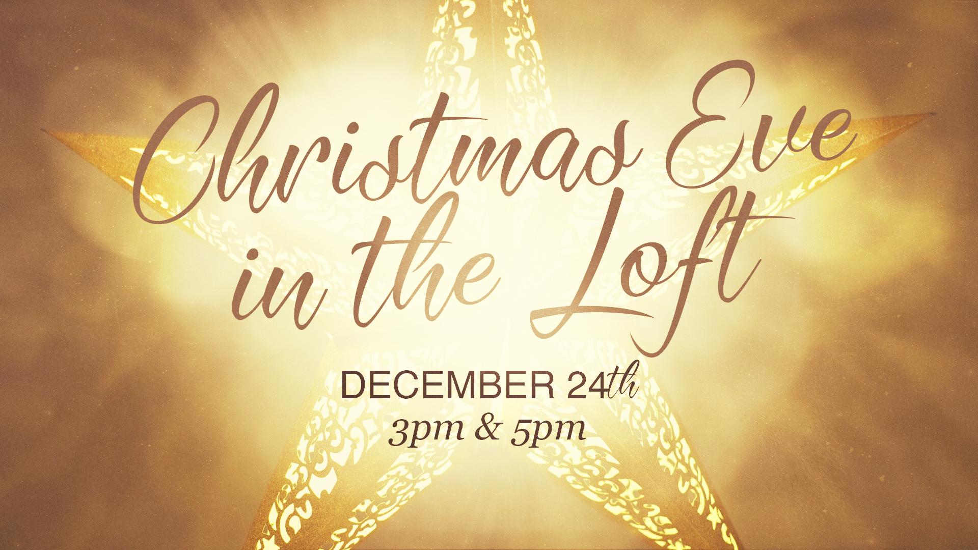 Christmas Eve in the Loft - Cornwall Church